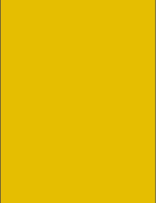 RAL 1003 - Signal yellow