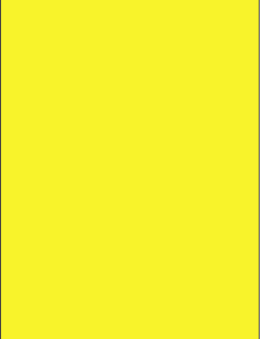 RAL 1018 - Zinc yellow