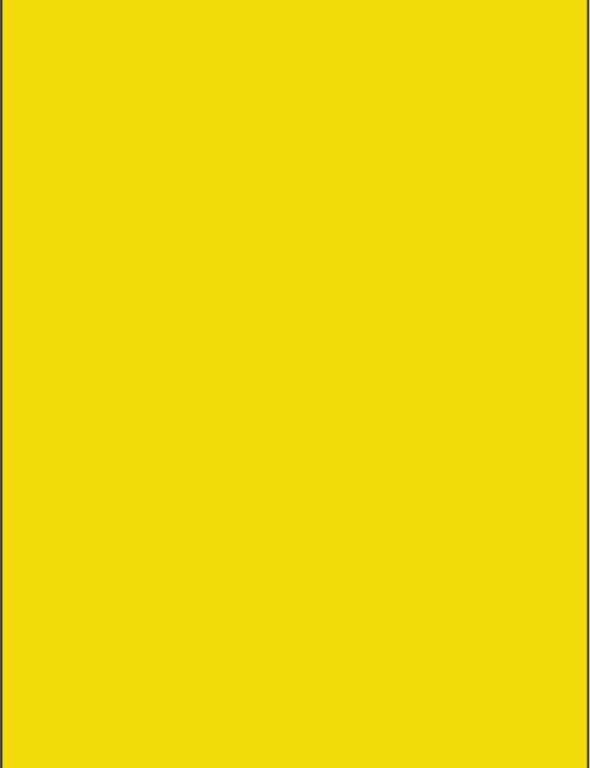 RAL 1021 - Rape yellow
