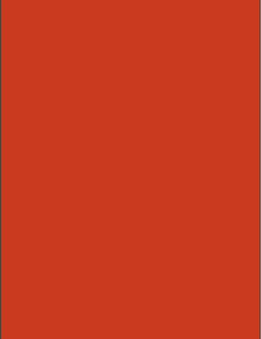 RAL 2001 - Red orange