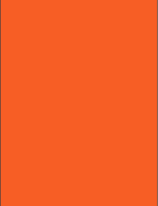 RAL 2008 - Bright red orange